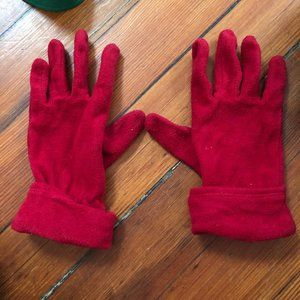 Red Winter Soft Gloves (Free with Any Purchase)